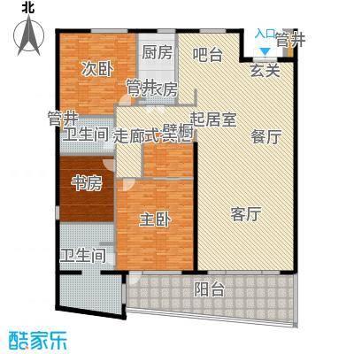 仁恒国际公寓243.00㎡户型