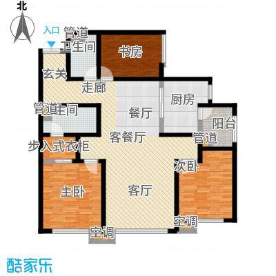 SR国际新城二期住宅-1户型