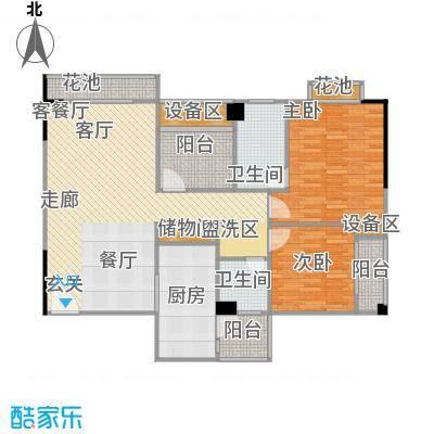 玫瑰馨苑107.00㎡D户型