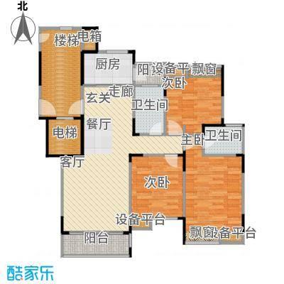 上寓99.00㎡房型户型