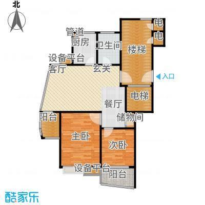 上寓80.00㎡房型户型