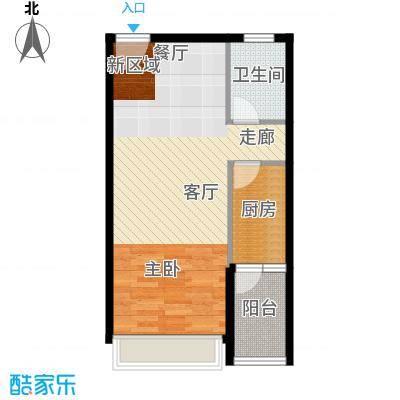 MOHO蜂巢1阳台A户型