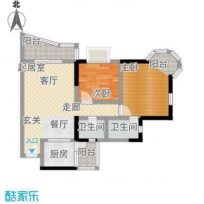 渝安龙都200563.72㎡房型户型