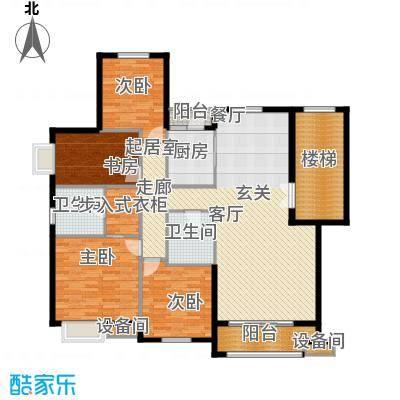 华业玫瑰谷163.20㎡H3、5、11、20栋户型
