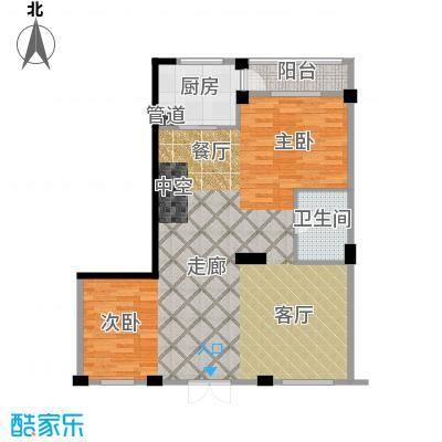 华锦铭苑95.86㎡户型