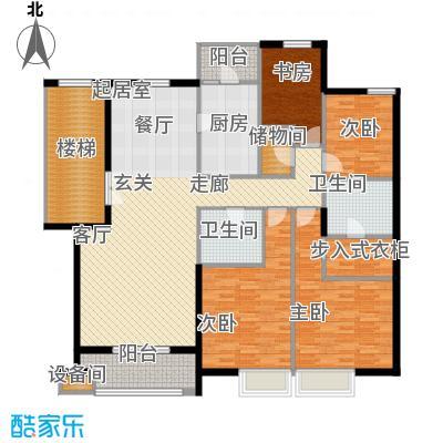 华业玫瑰谷171.06㎡H12、15、16、18栋户型