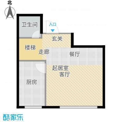 福佳华东人家71.00㎡户型