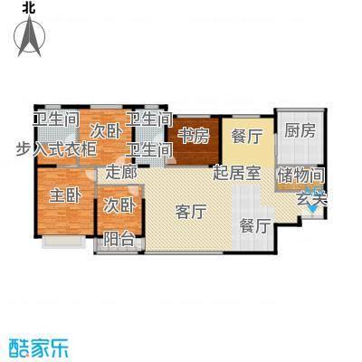 青洲豪庭188.18㎡户型