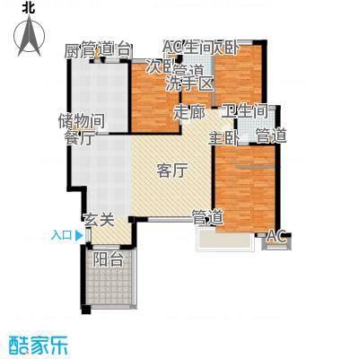 万科四季花城HS3a-2Z户型