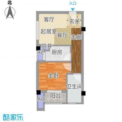 南枫时光49.79㎡户型