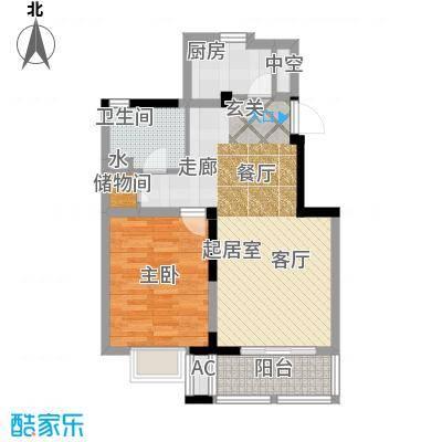 国信・阅景龙华73.67㎡B2户型