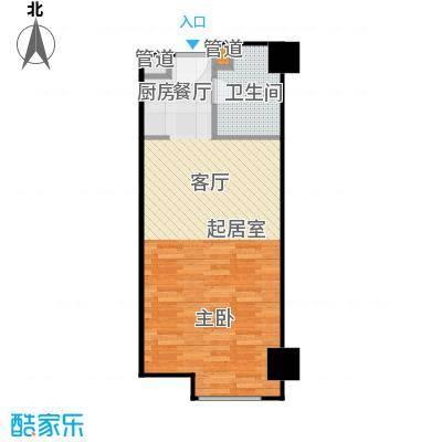 湘聚酒店公寓45.00㎡E户型