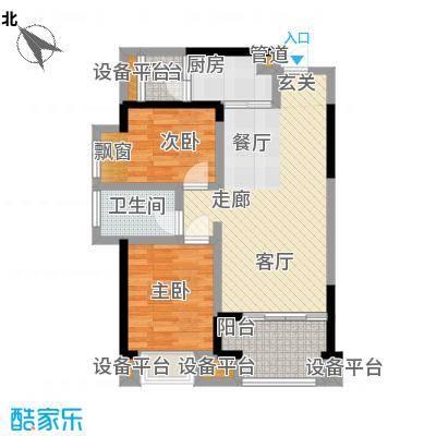 旭辉华庭77.91㎡D户型