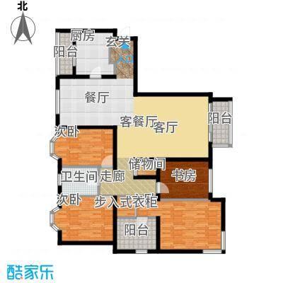 城建花园户型4室1厅1卫1厨