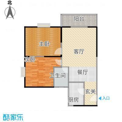 鼎盛国际公寓90.00㎡--200套户型