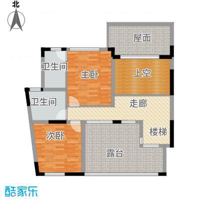 光华阳光水城204.64㎡房型复式户型