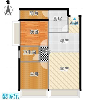 MOHO蜂巢1阳台B户型