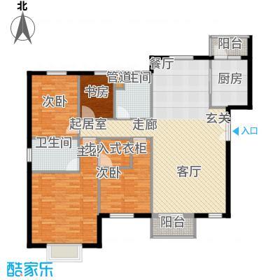 华业玫瑰谷139.89㎡H6、7、8、9、10栋户型