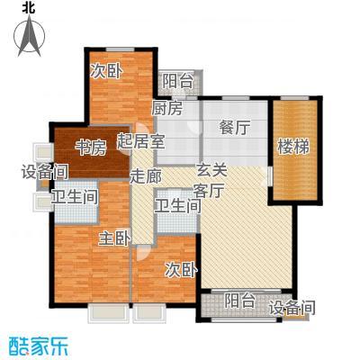 华业玫瑰谷171.72㎡H12、15、16、18栋户型