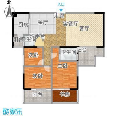 明珠丽园沃邦・菁华源142.80㎡户型