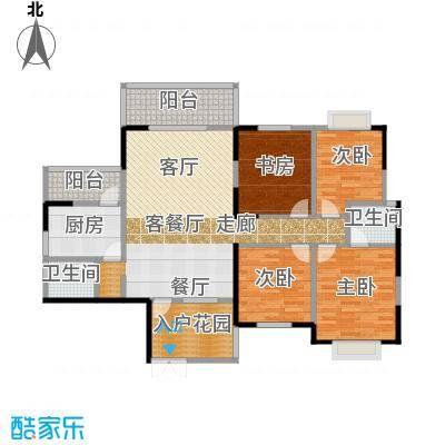 明珠丽园沃邦・菁华源155.98㎡户型