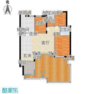 万科四季花城HS3a-2Zt户型