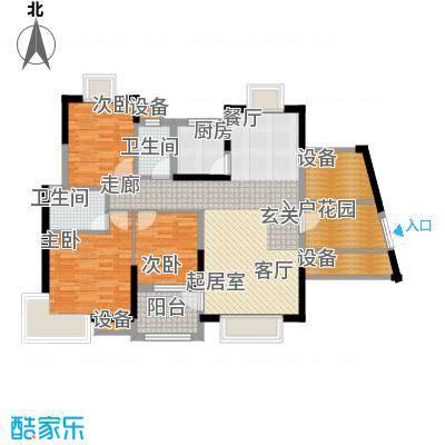 联泰香域尚城107.00㎡C4户型