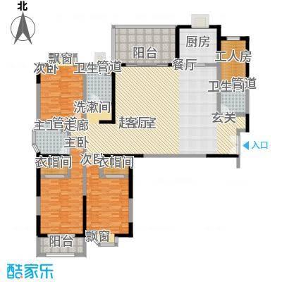 大舜天成224.00㎡户型