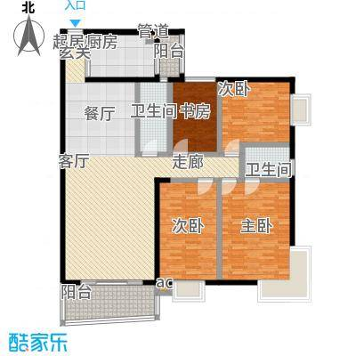 新燕花园147.61㎡户型