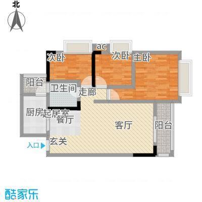 上海城三期单张34栋G3户型