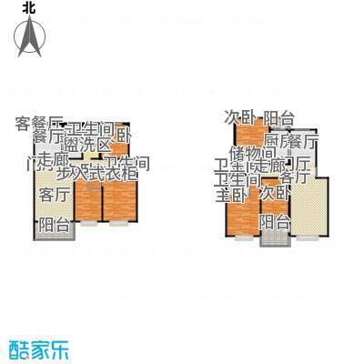 滨江美寓120.00㎡9-2户型