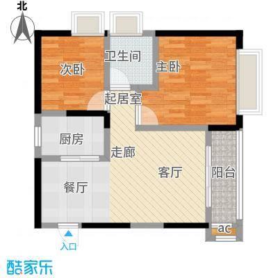 上海城三期单张34栋G2户型