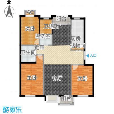绿地长春上海城二期128.00㎡D户型