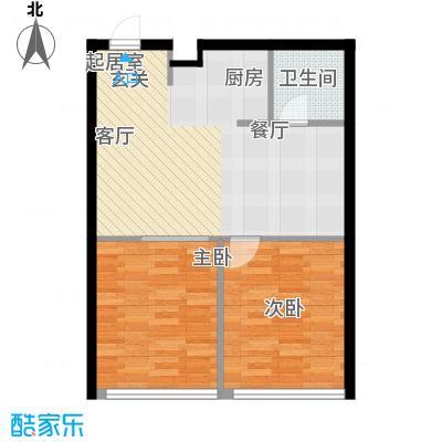 耀江五月花苑-2户型