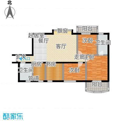 新燕花园127.80㎡户型