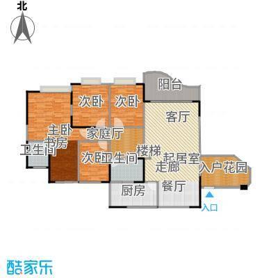 圣湖天域134.08㎡房型户型