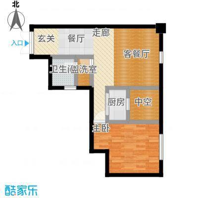 麦凯乐国际公寓实户型