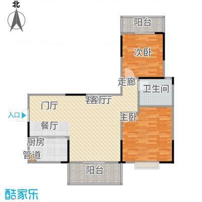 鑫天山城明珠1、3栋B2-户型