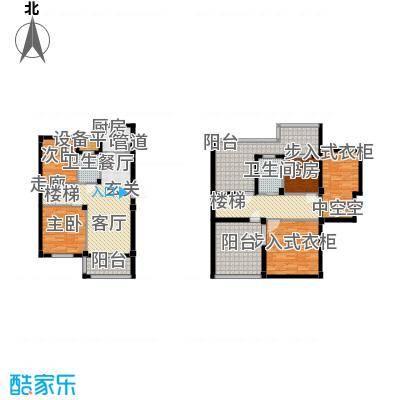 君悦龙庭168.00㎡C户型
