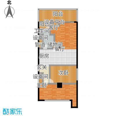 大舜天成自由城97.00㎡户型