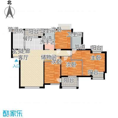 万科四季花城HS4a-4Zt户型