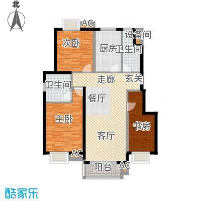 中国铁建未来城125.60㎡