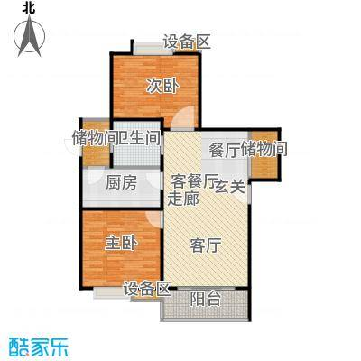 武夷商城・风尚阁户型2室1厅1卫1厨