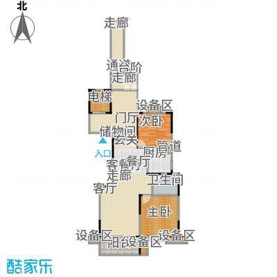 鼎业国际花园97.38㎡9983m2户型