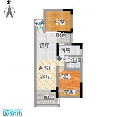 尚书苑户型1室1厅1卫1厨