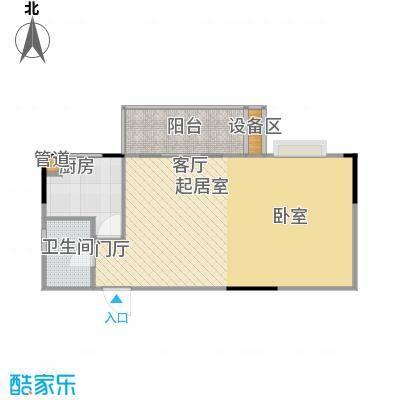鑫天山城明珠1、3栋-户型
