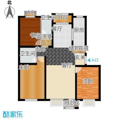 绿地长春上海城二期135.00㎡E户型