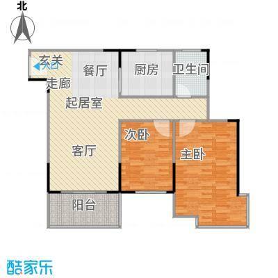 上林国际85.55㎡D户型