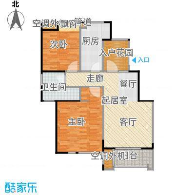 丹景廷89.00㎡小高层G1户型