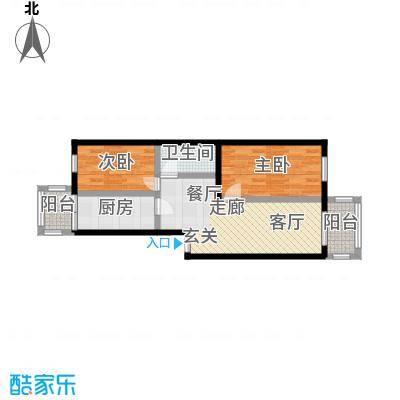 美晨家园40.73㎡-(使用面积)-420套户型